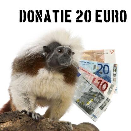 Tropical Zoo donatie 20 euro