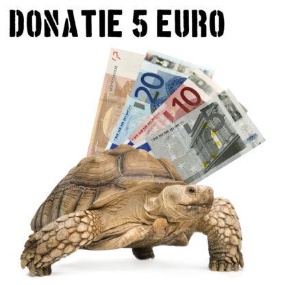 Tropical Zoo donatie 5 euro