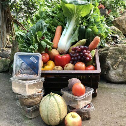 Doneer groenten en fruit aan de dieren